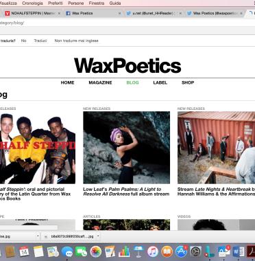 Wax Poetics/ WaxpoeticsBooks