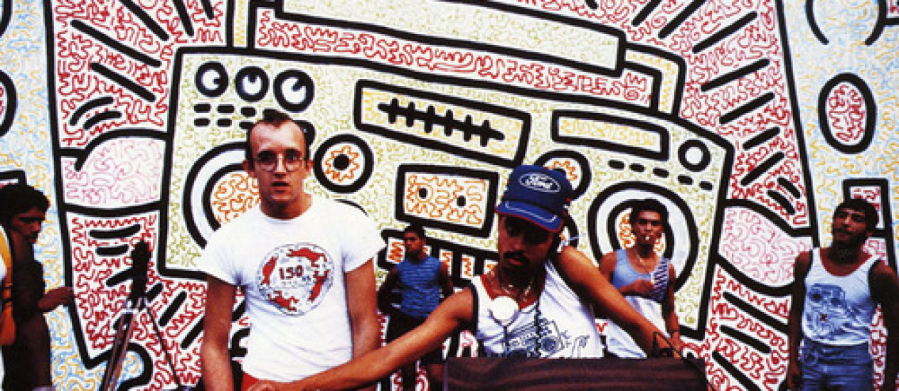 Keith Haring, downtown e hip hop