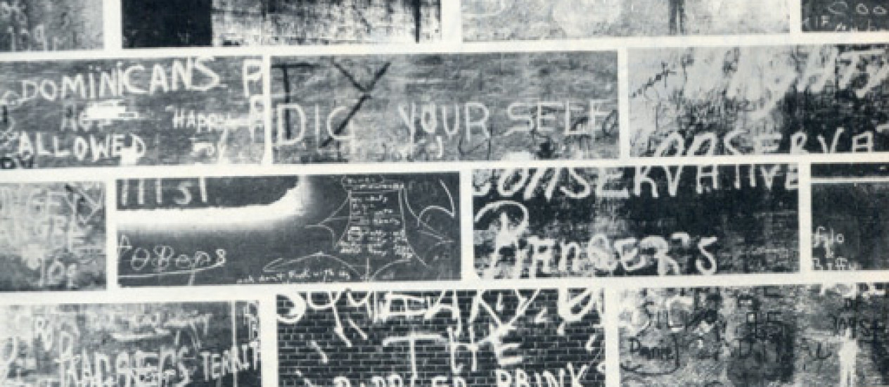 THE ORIGINS OF WALL WRITING