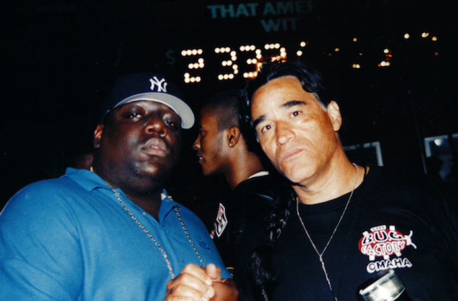 BEHIND SOME OF BIGGIE'S ICONIC PHOTOS